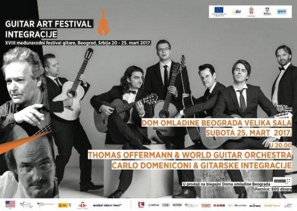 Počinje Guitar Art Festival