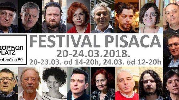 Počeo Festival pisaca na Dorćol Platz-u