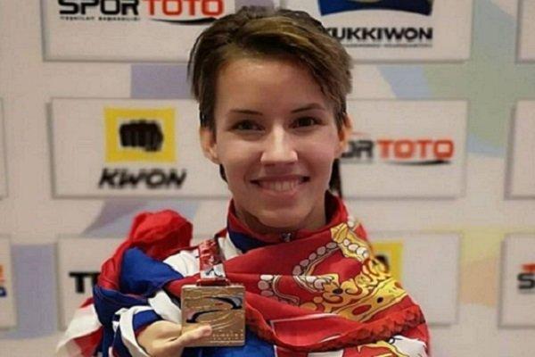 Paretekvondo:Dejana Bačko-prvakinja sveta